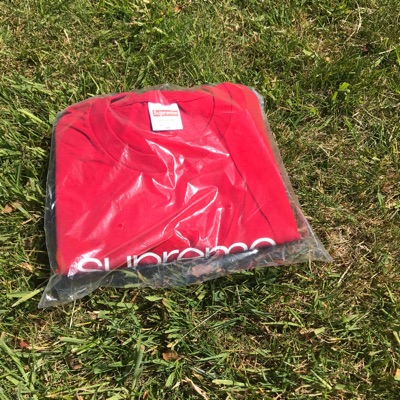Supreme Shop Tee Red