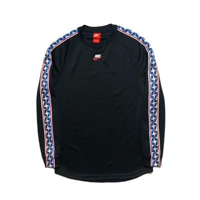 Nike Taped Long Sleeve Top