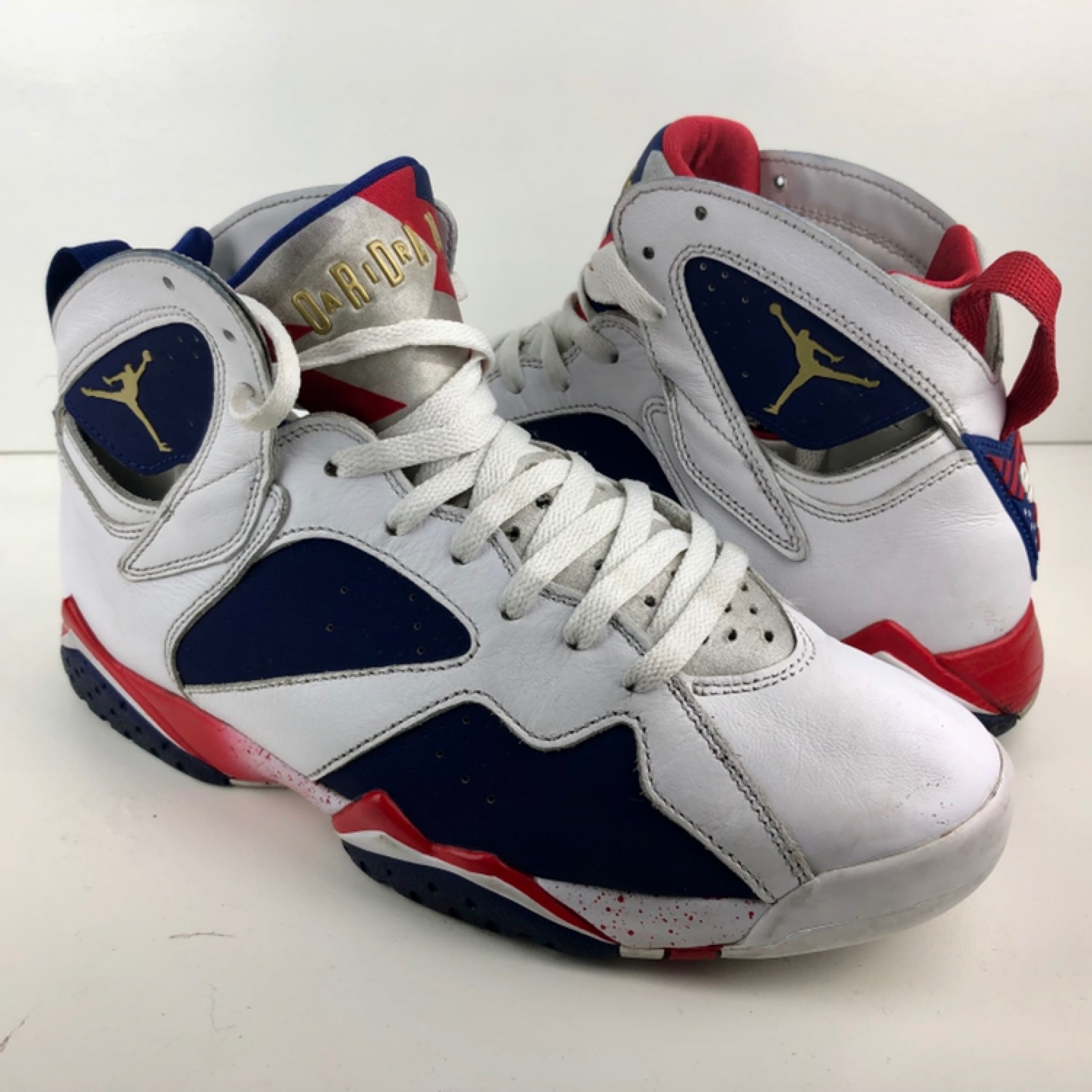 best service 2df53 d5a1e Nike Air Jordan 7 Retro Tinker Olympic Alternate