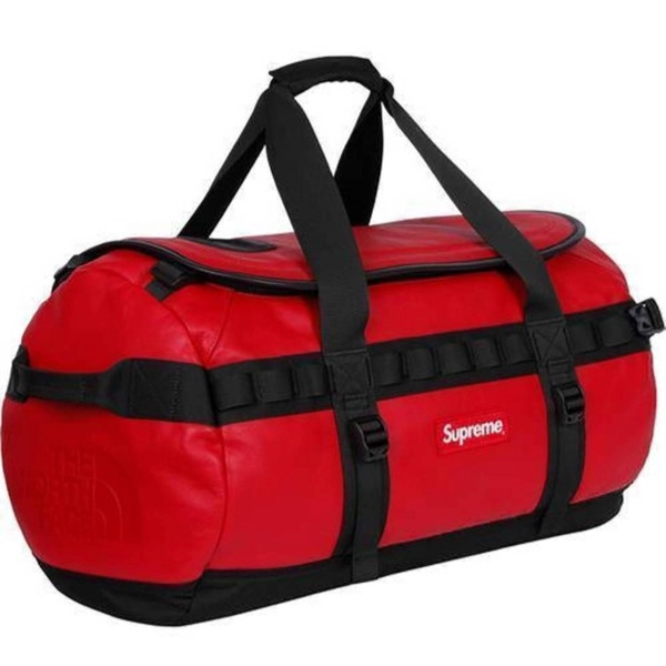 Supreme X The North Face Leather Base Duffle Bag