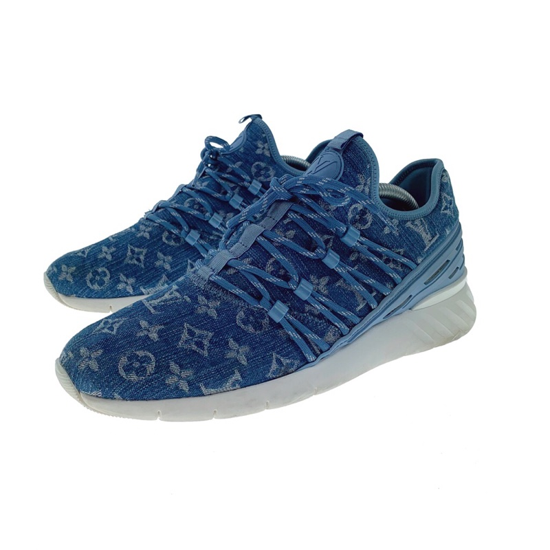 Louis Vuitton Denim Fastlane Trainers