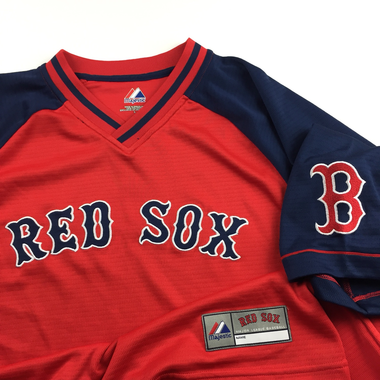 Majestic Mlb Boston Red Sox Warm Up T-Shirt