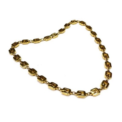 """Givenchy 16"""" Gold Logo Chain Necklace"""