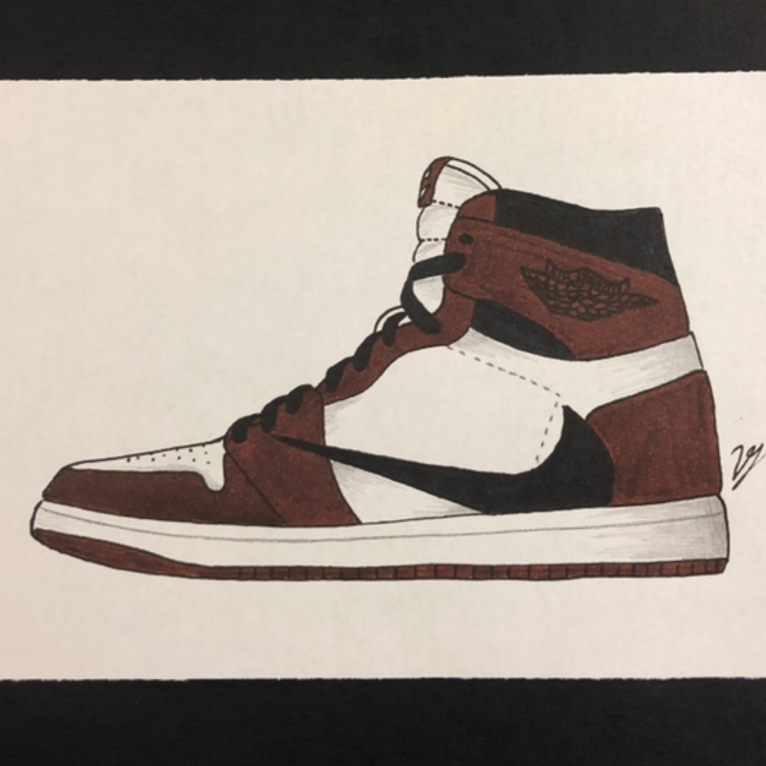 great look the latest new list Nike Air Jordan 1 Travis Scott 1S Cactus Jack