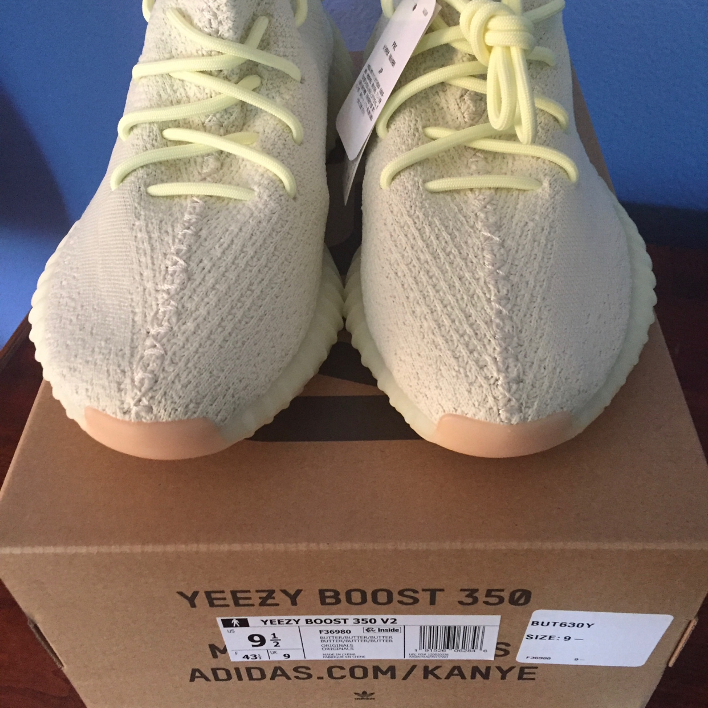 """7a211d6706568 Adidas Yeezy Boost 350 V2 """"Butters"""""""