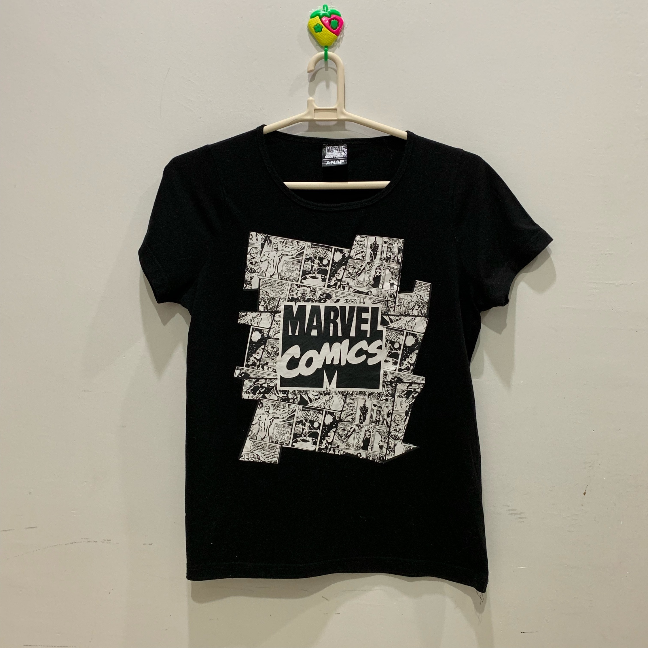 Marvel Comics Anap Short Sleeve Tee Fits M
