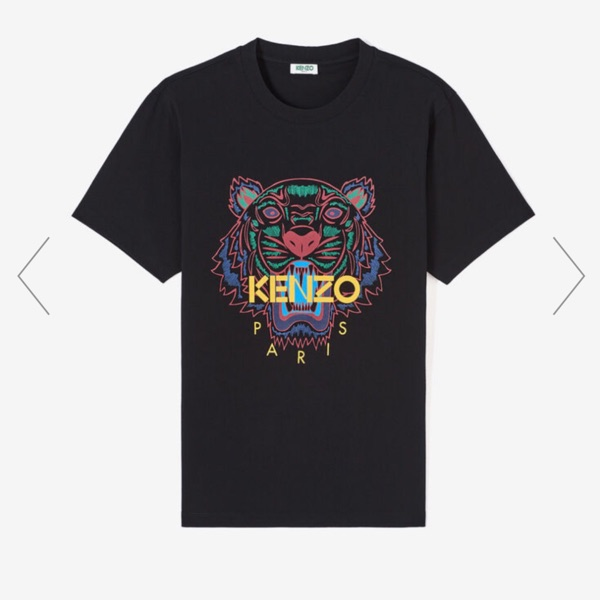 Kenzo Tiger Tee Small Worn Once