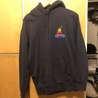 Palace Jobsworth Hood Navy