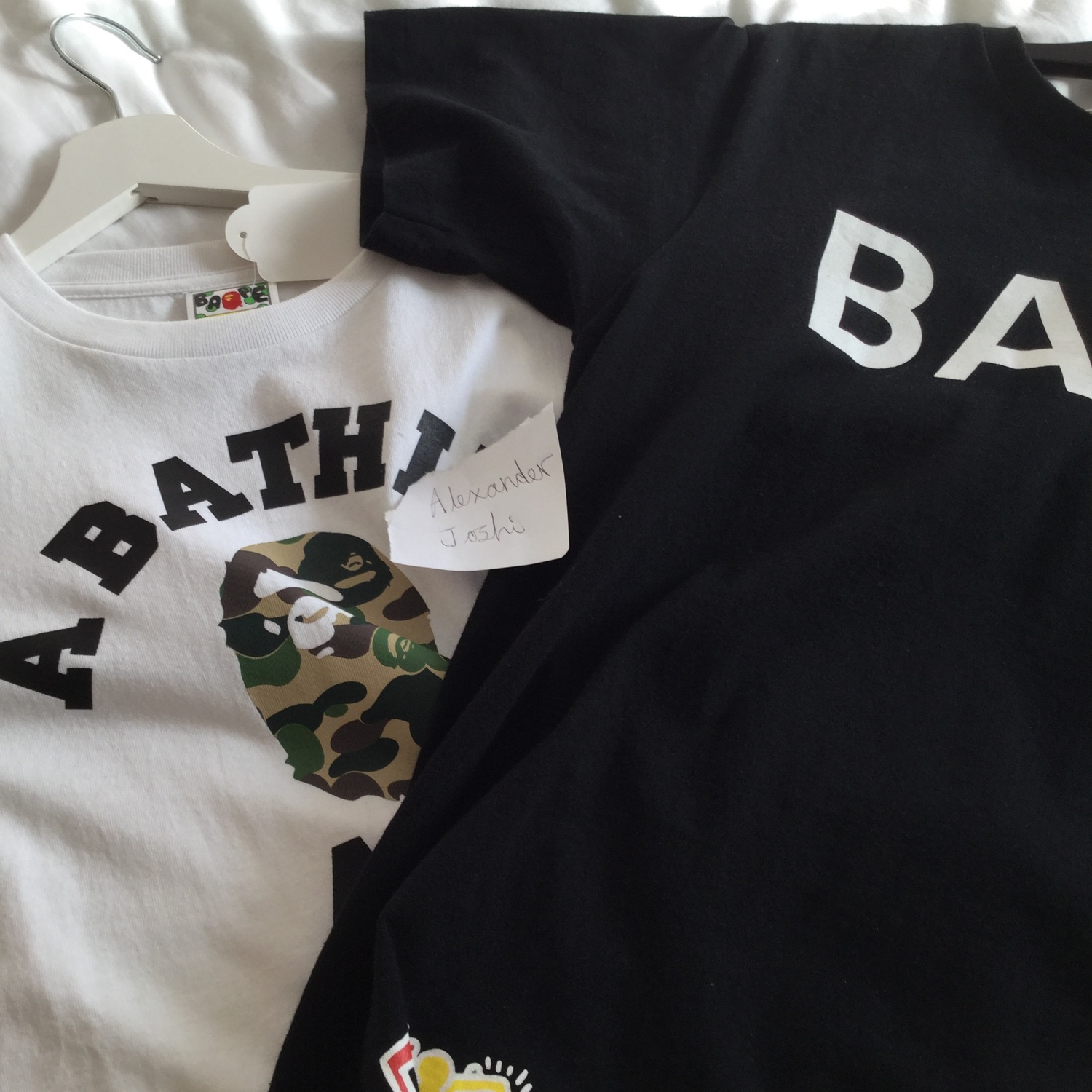 X2 Bape Tops   %100 Authentic   Steal!