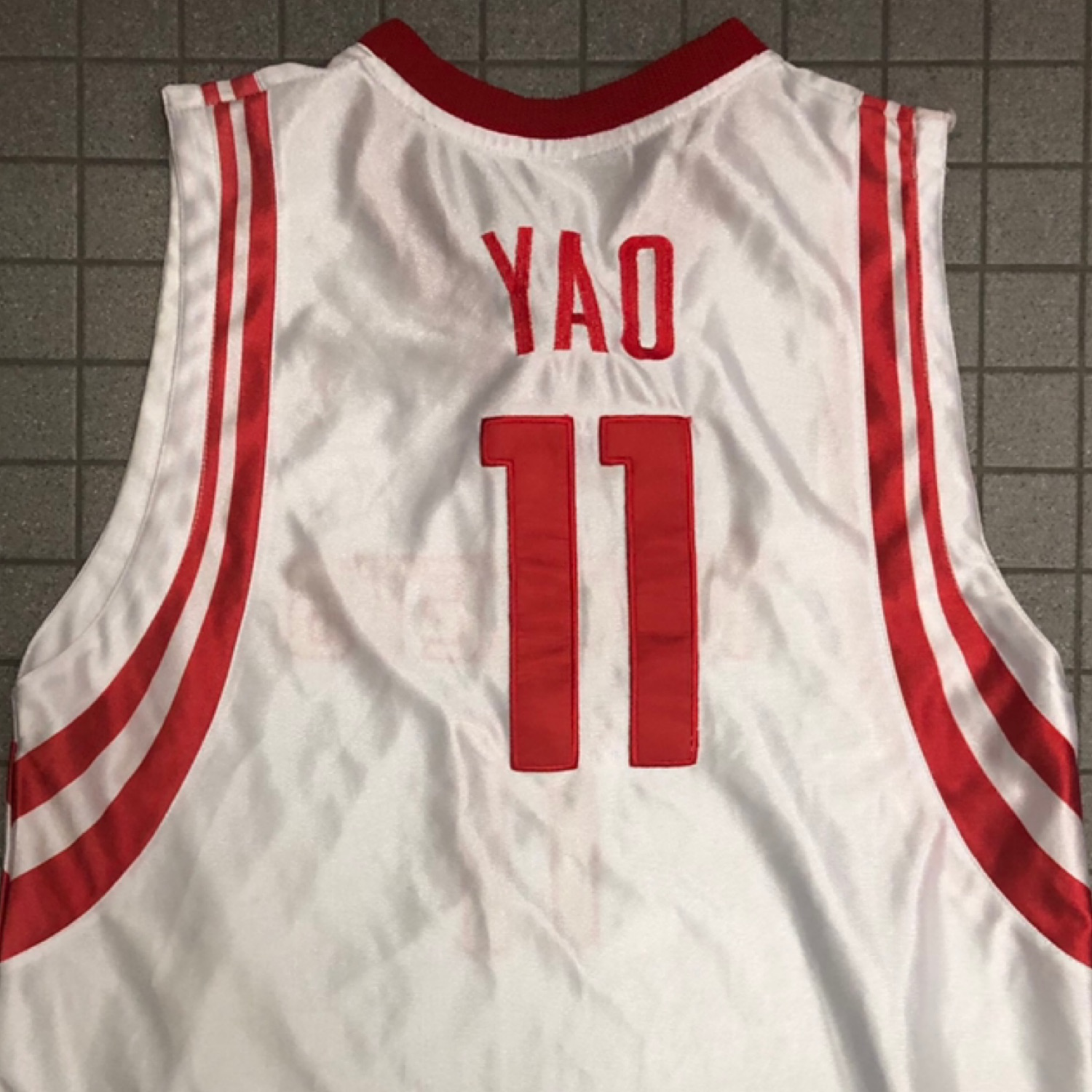 competitive price 9a6f4 90abc Yao Ming Jersey Basketball Vintage