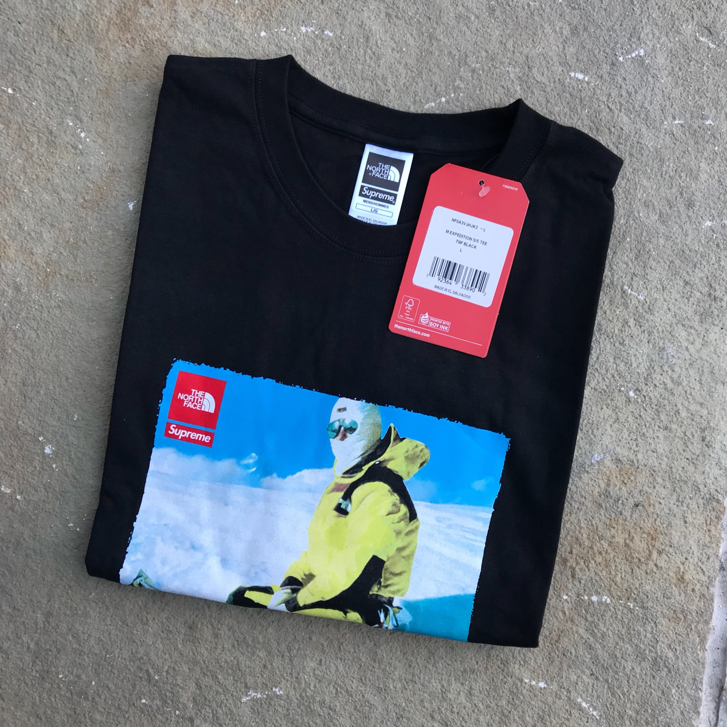 386e68426 Supreme X The North Face Expedition T-Shirt L