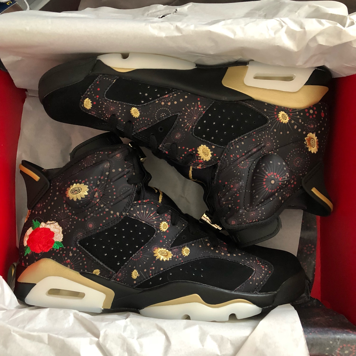 100% authentic fe06d 9d21f Retro Jordan 6 Chinese New Years