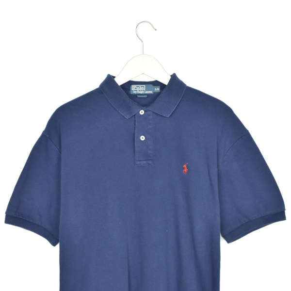 Vintage Ralph Lauren polo shirt t-shirt pullover in dark blue