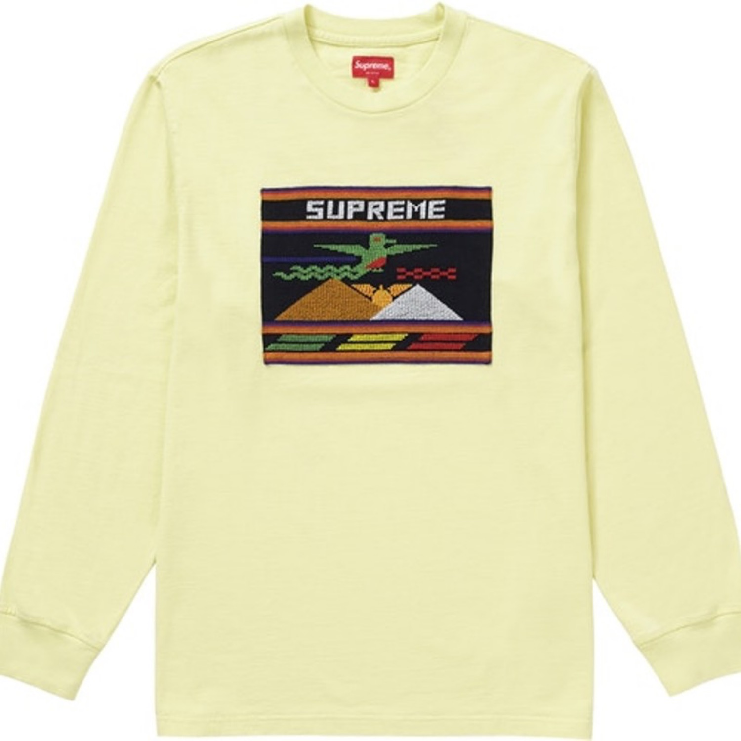Supreme Needlepoint Patch Shirt
