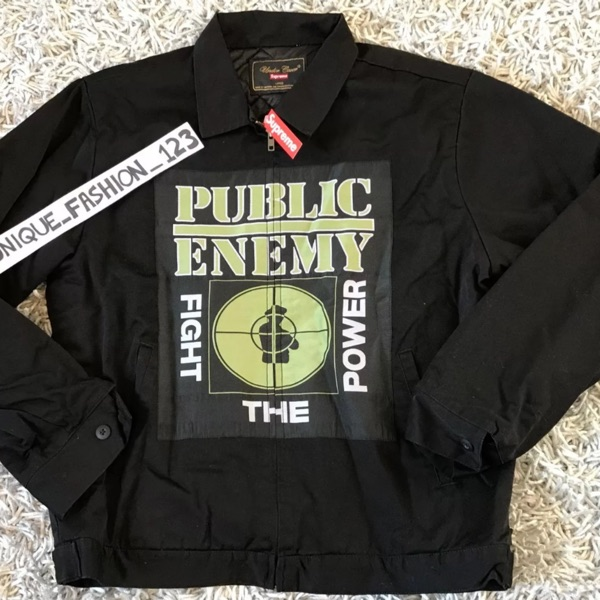 Supreme X Undercover X Public Enemy Work Jacket