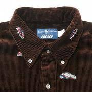Palace x Polo Ralph Lauren 🏇 Embroidered Cord GTI Shirt