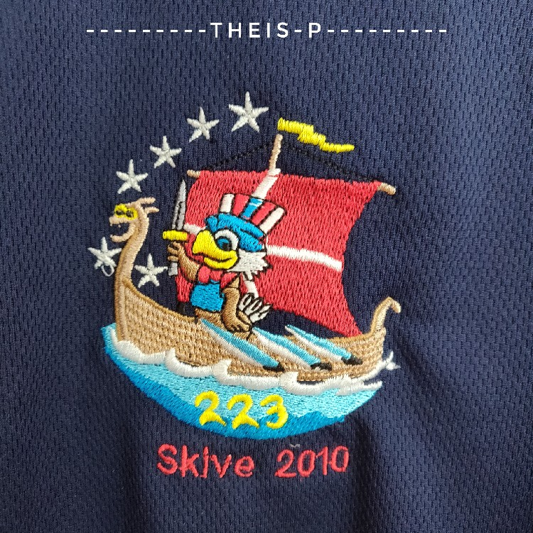 Boy Scouts Of America Troop 223 Skive 2010 Jerseys  Polo Us Medium Fits Large
