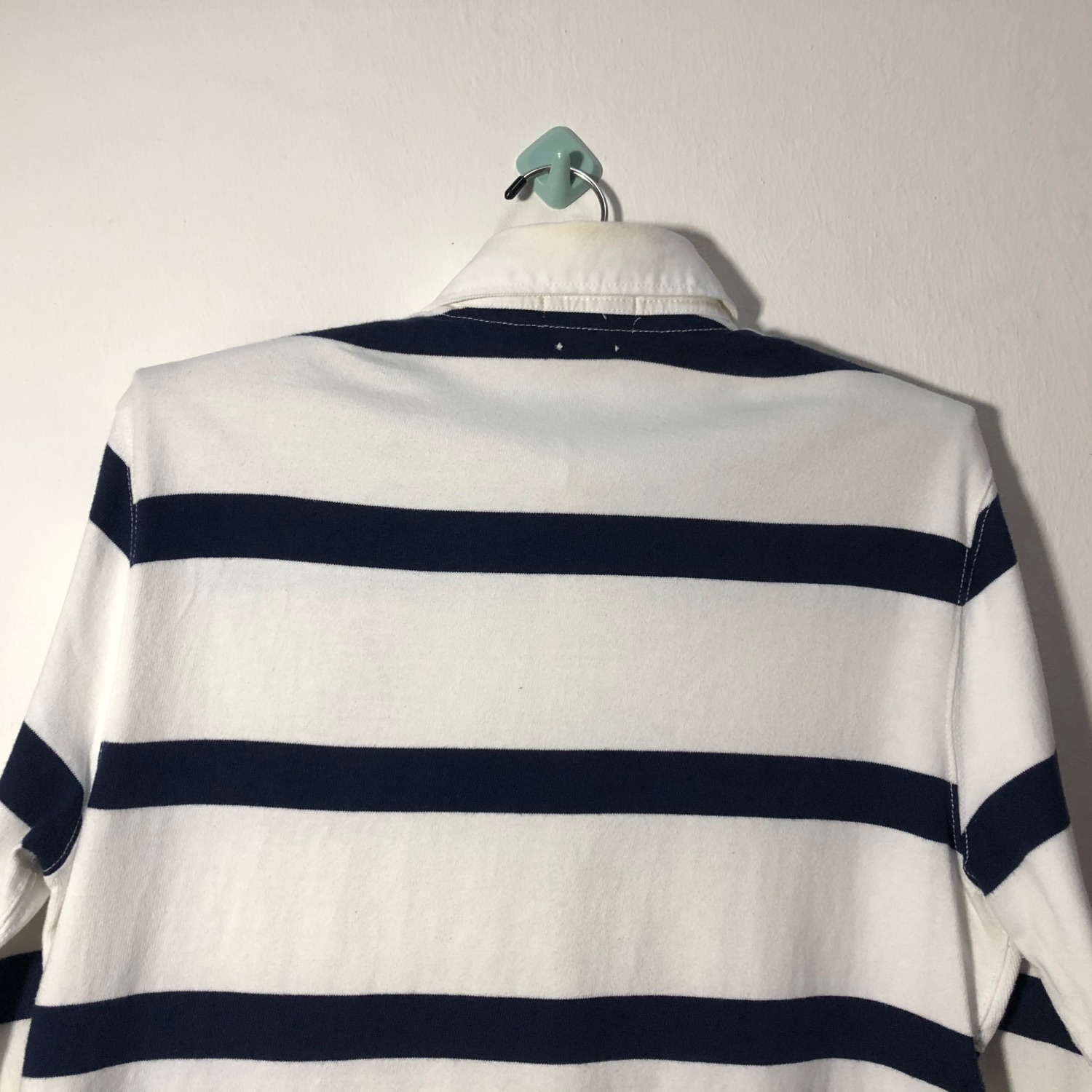 Vintage Polo Ralph Lauren Rugby Shirt Striped 1990