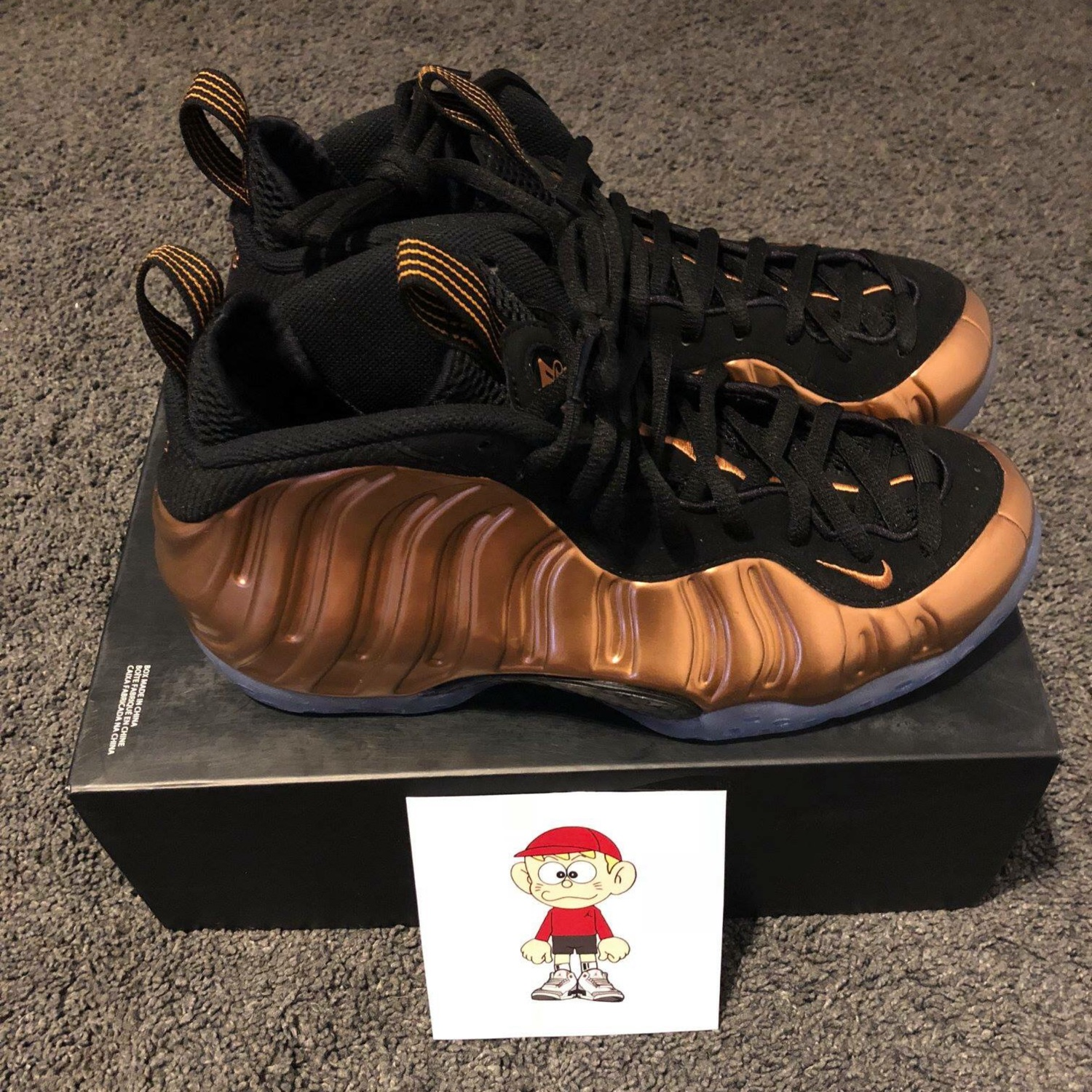 "low priced 06b7d 31154 Nike Air Foamposite One ""Copper"" 9Us"