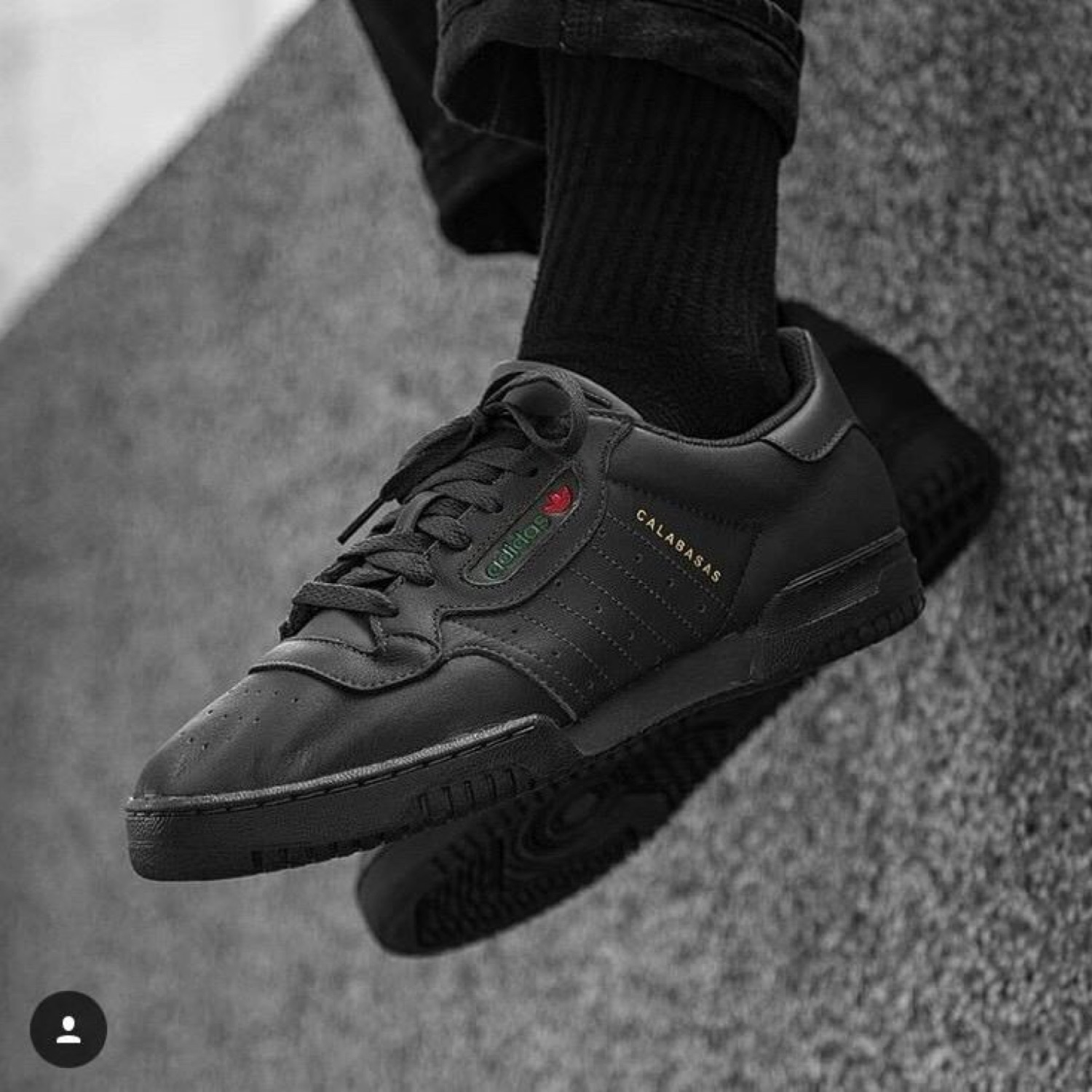 0736d93095be3 Adidas Yeezy Powerphase Calabasas Core Black adidas yeezy powerphase core  black