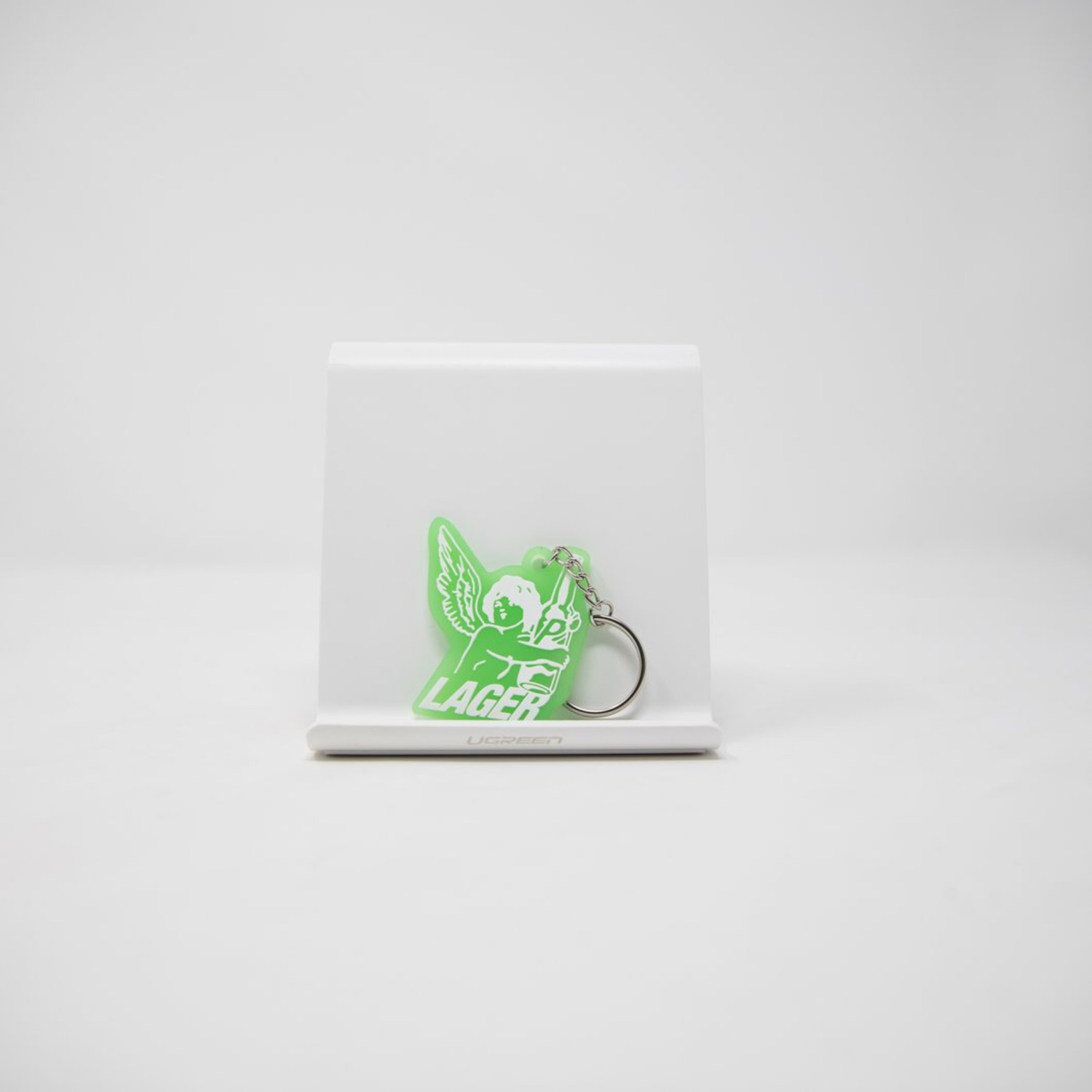 Palace Lager Keychain (Mint)
