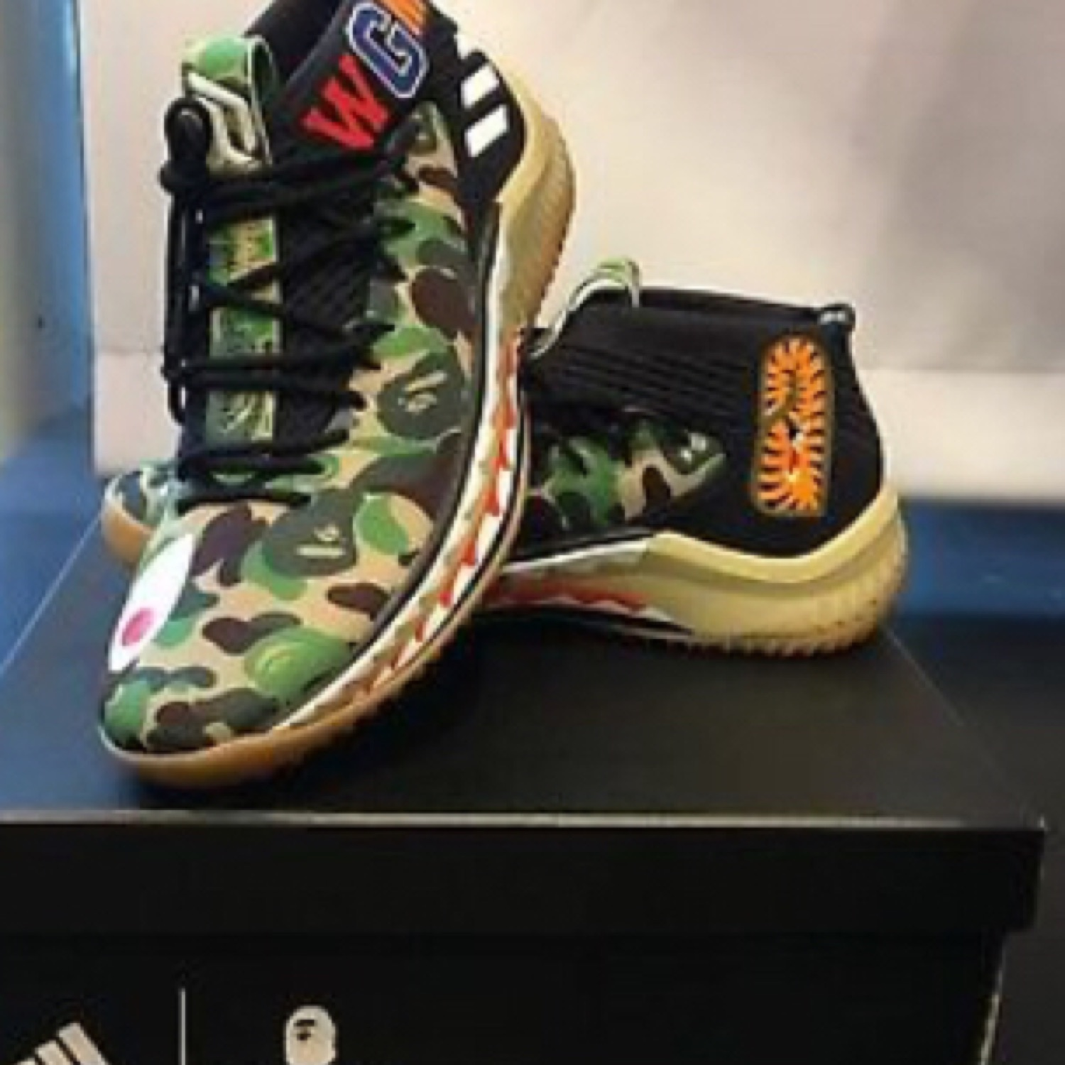 new products fd3a0 af0bf Bape Adidas Nmd
