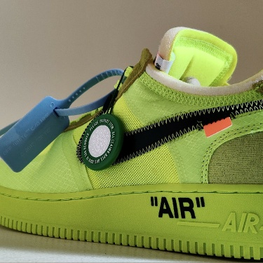 Air Force 1 Low Off-White Volt (I)