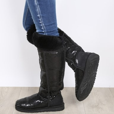 b1f093b3721 Ugg Bailey Button Over The Knee Boots Size Uk 4.5