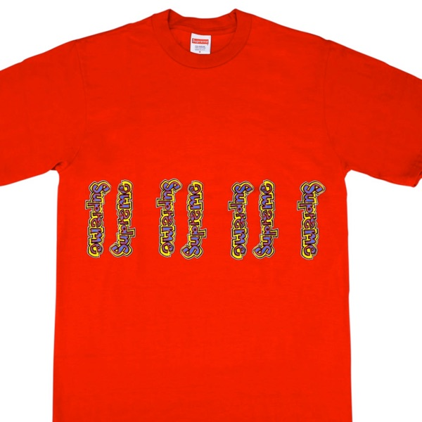 Supreme Gonz Logo Tee Red