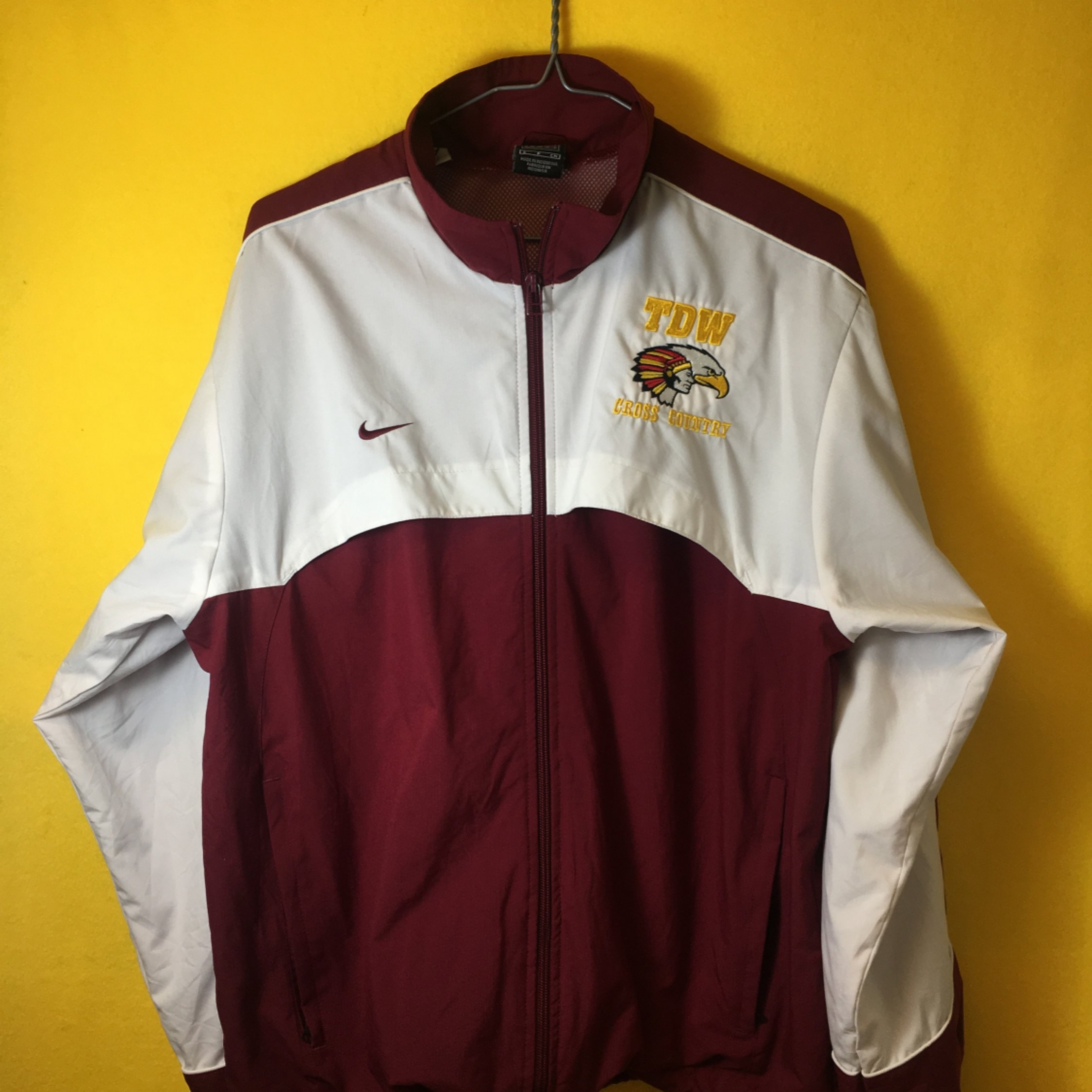 Vintage 90S Nike Team Windbreaker Jacket