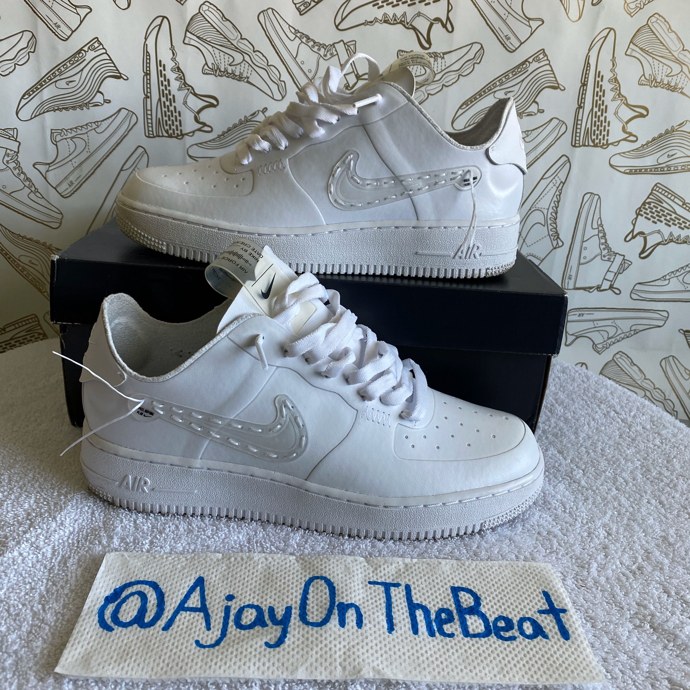 nike noise cancelling air force 1