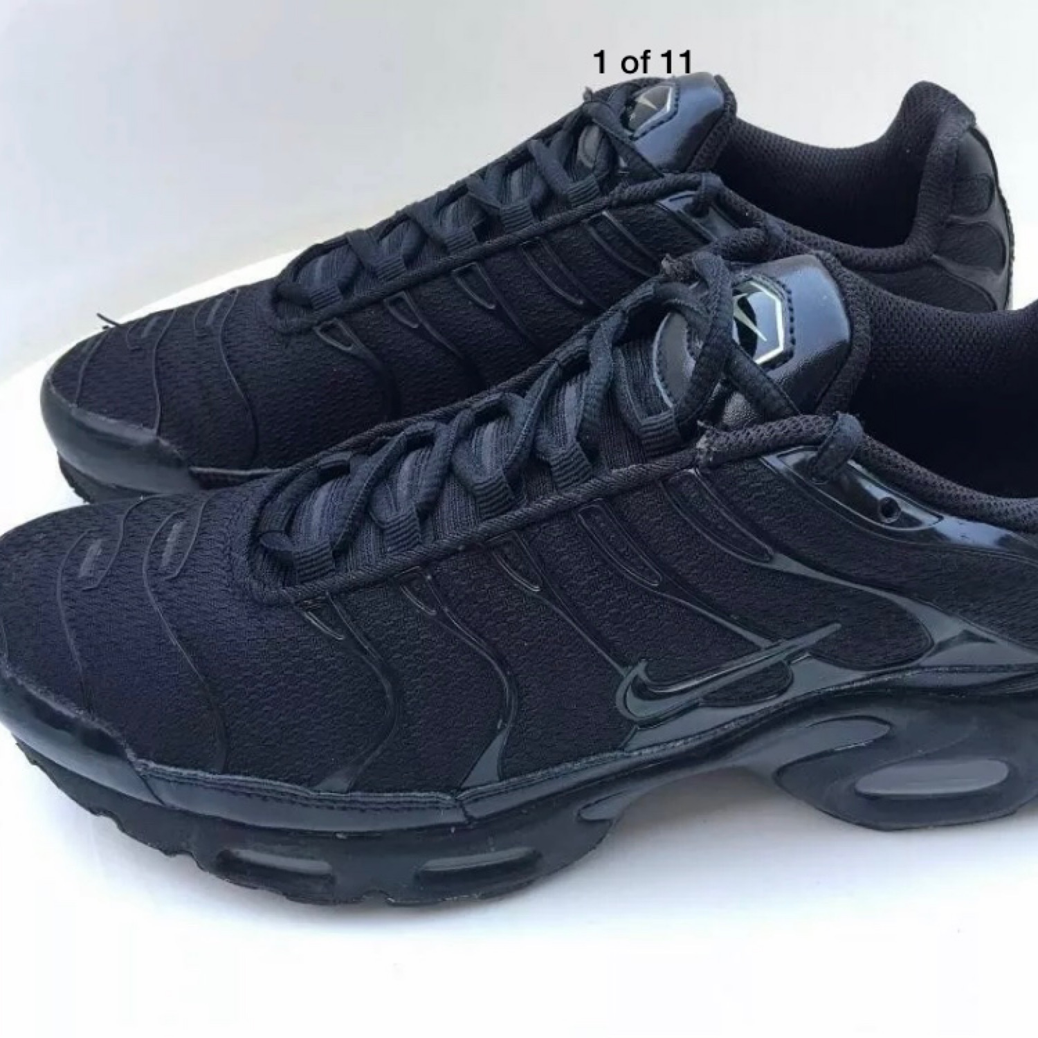 sneakers for cheap sneakers for cheap half off Nike Air Max Plus Tn Tuned Black Size 7.5