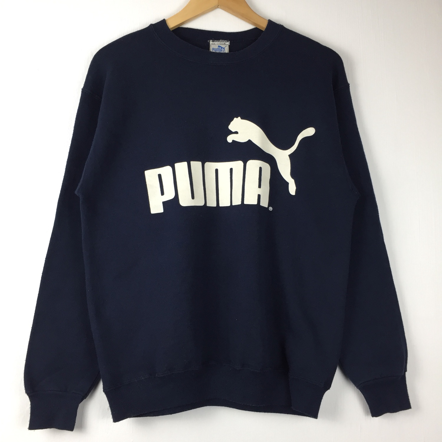 Vintage Puma Sweatshirt Made In Usa