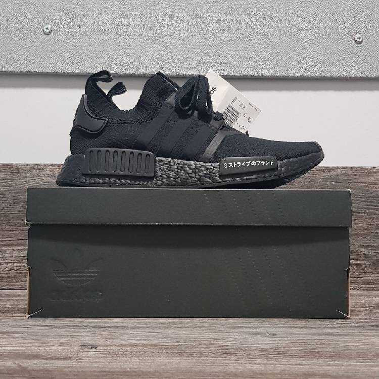 timeless design 8ffcf a49be Adidas Nmd R1 Japan Triple Black