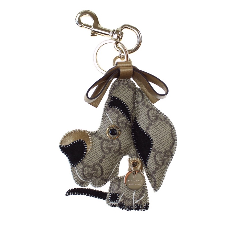 Gucci 'Ulisse' Harlequin Great Dane Charm