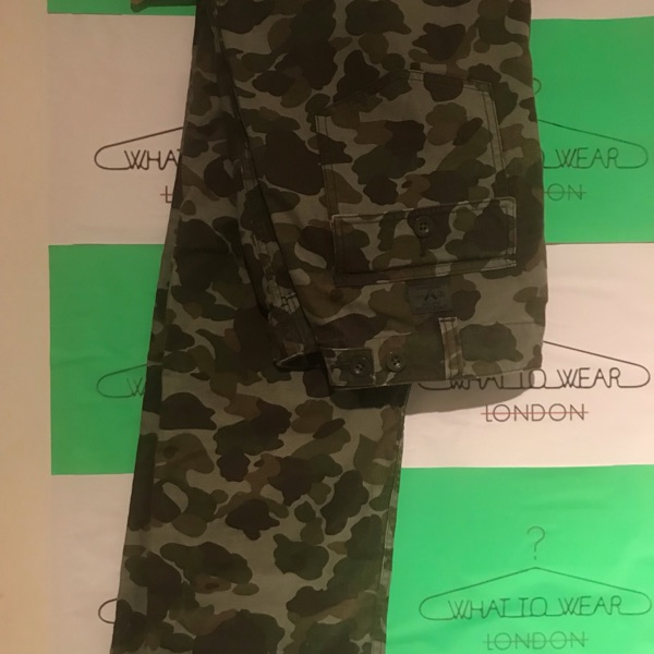 Fw11 Supreme Duck Camo Work Trousers