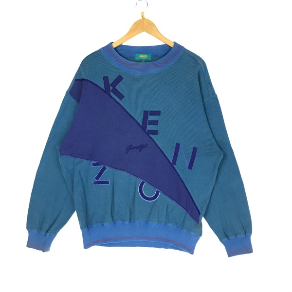 Vintage Kenzo Golf Sweatshirt Fashion Streetwear