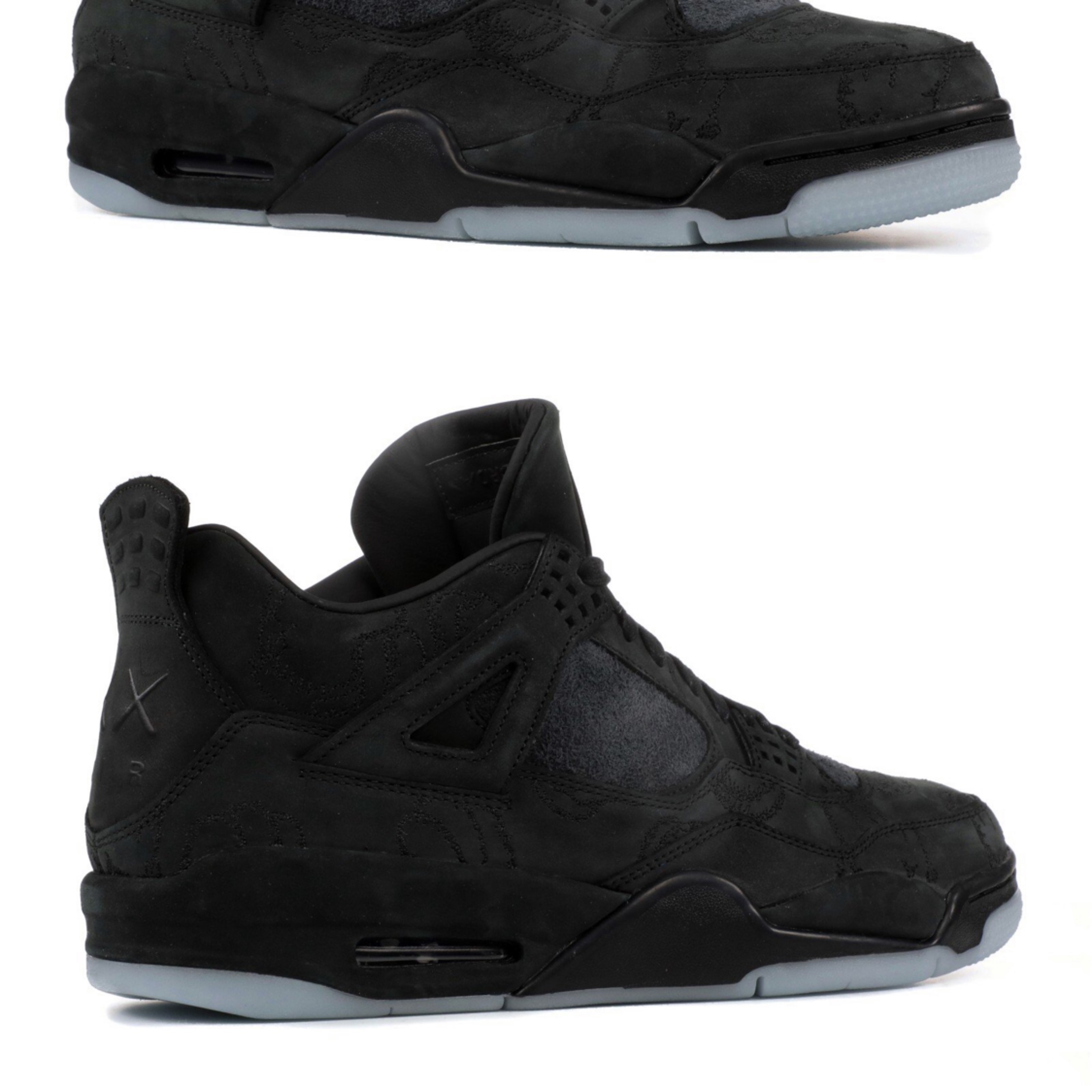 premium selection b009b be9bc Nike Air Jordan 4 Retro Kaws Black