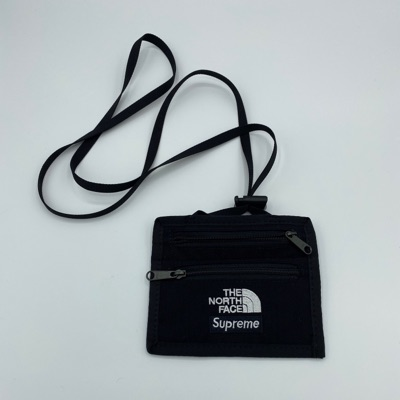 Supreme The North Face Expedition Travel Wallet Black