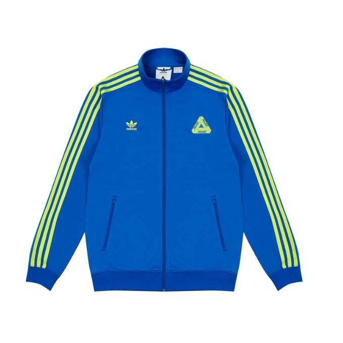 Palace Adidas Firebird Track Top Blue