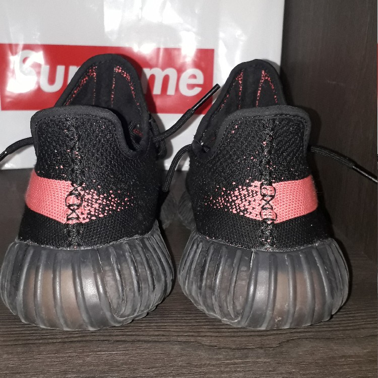 Adidas Yeezy Boost 350 V1 Core Black Red