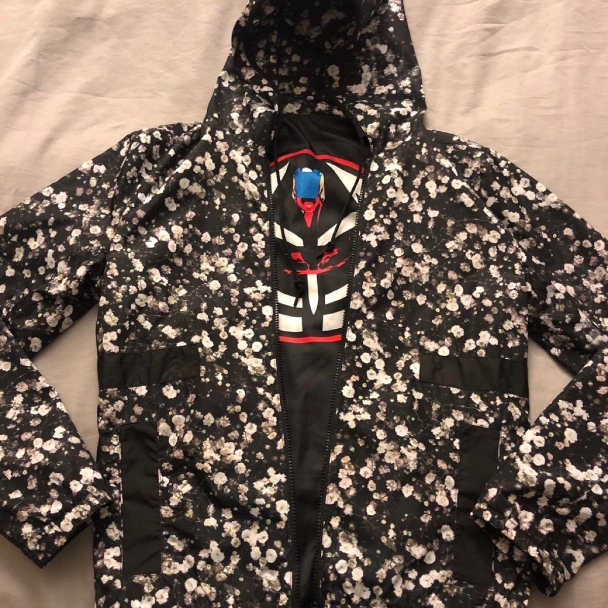 Givenchy baby's breath banded straps jacket