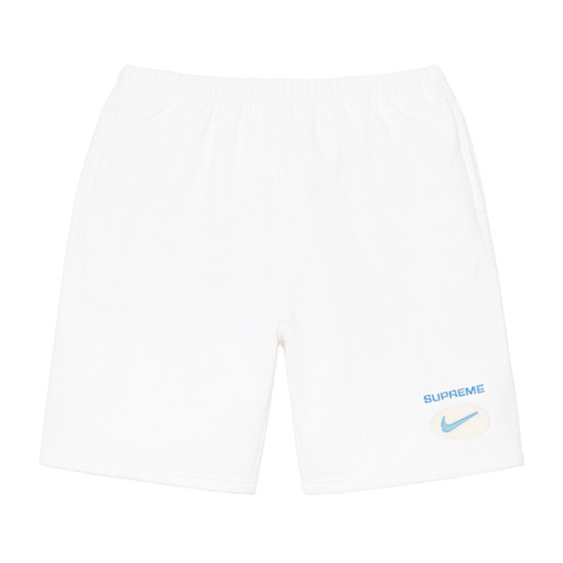 Supreme Nike Jewel Sweatshort White