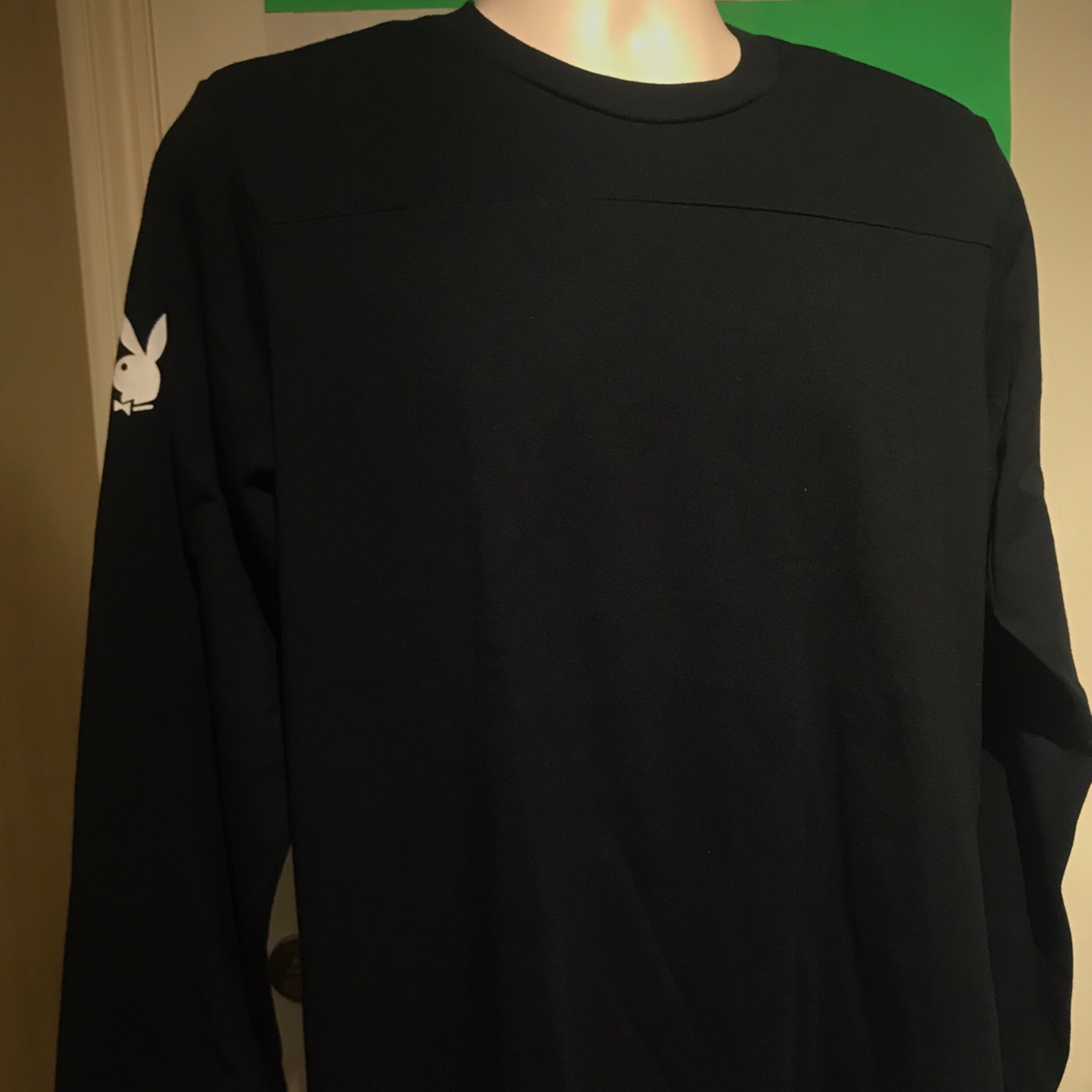 Fw17 Supreme X Playboy Football Top L/S Tee