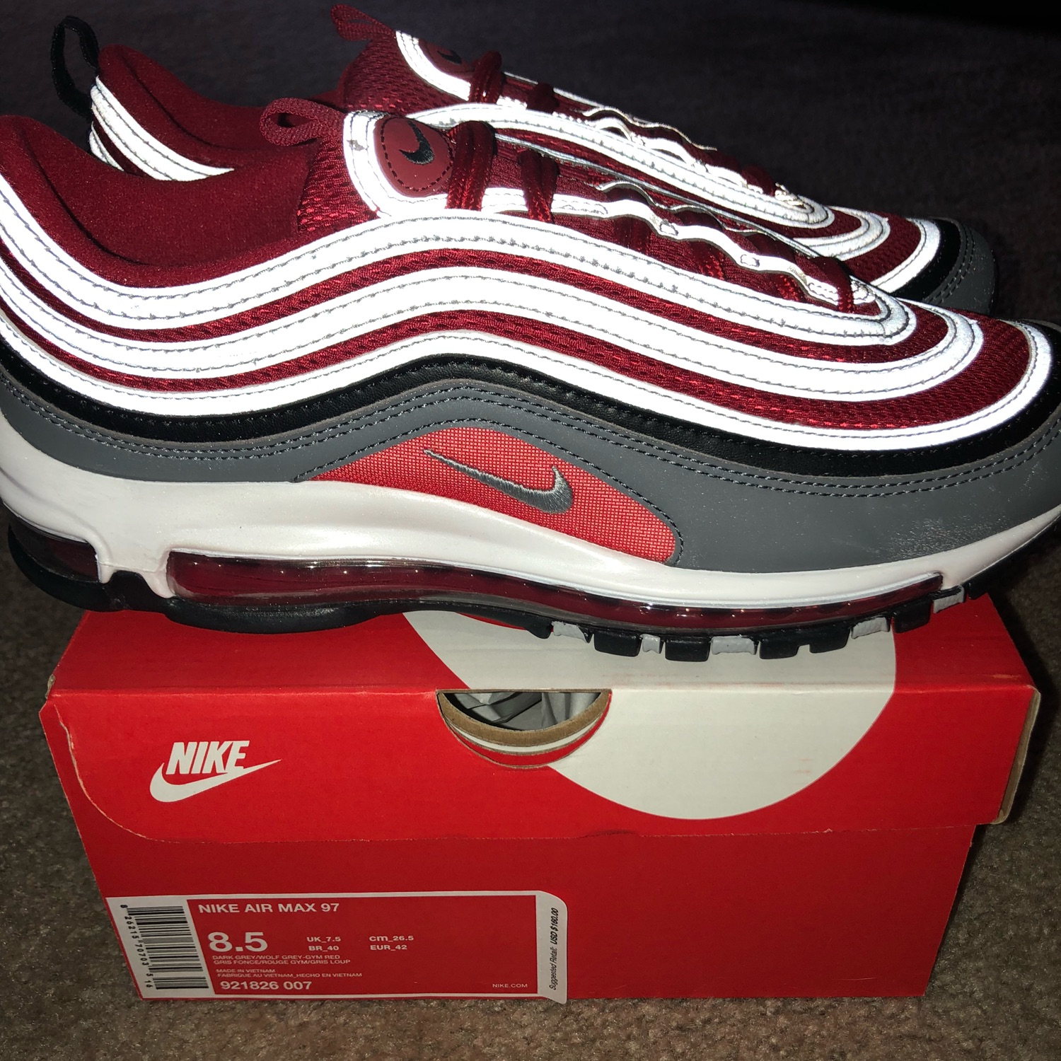 Nike Air Max 97 Gym Red