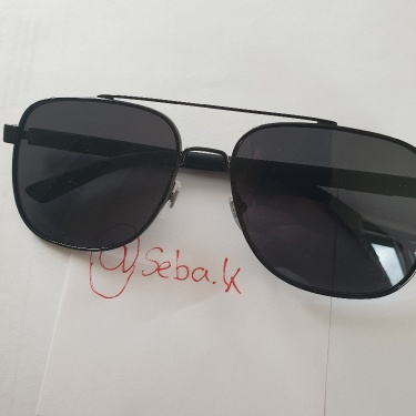 Gucci Sunglasses Black with Flaglabel