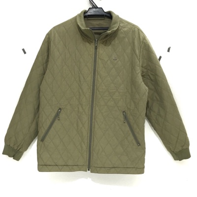 Lacoste Paris Quilted Reversible Jacket Sweater