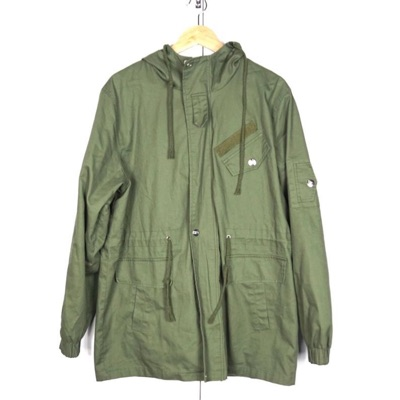 Military Army Green Stylish Mod Trench Coat