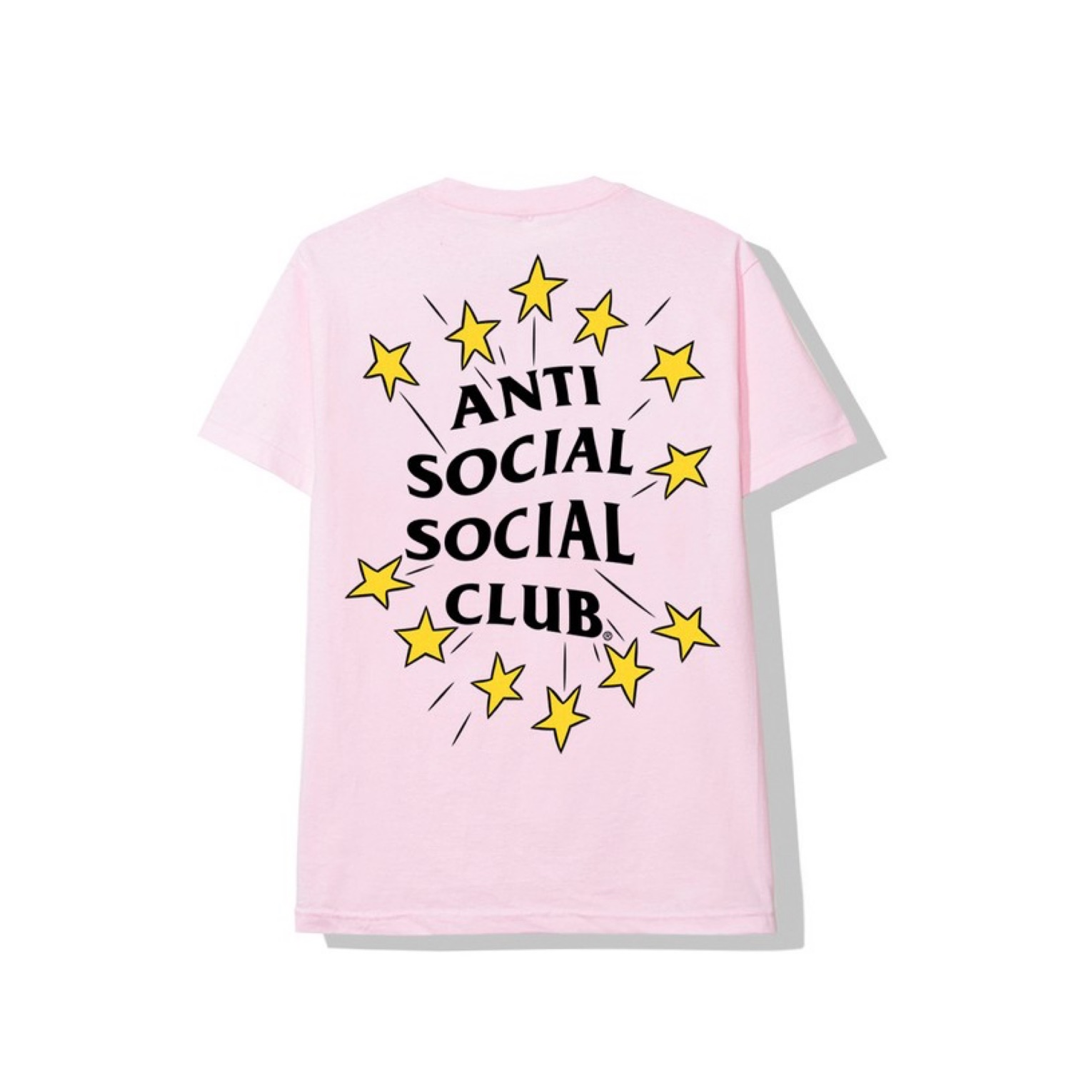 Anti Social Social Club Hip Hop And R&B Pink Tee