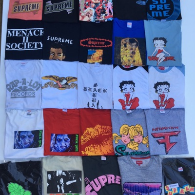 Older Supreme Tees